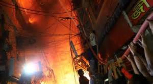 Photo of Fire in historic Dhaka district kills 78