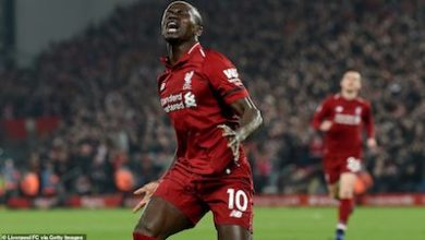Photo of Liverpool run riot  … as City stay in touch