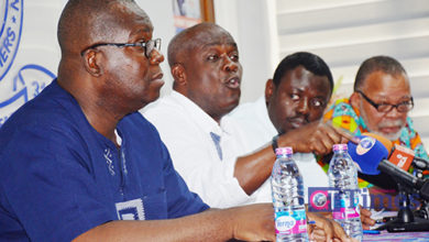 Photo of Implementation of Ghana Partnership Schools Project: Pre-Tertiary Educ. unions protest