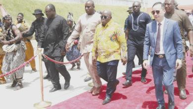 Photo of We'll arrest decline of Cedi —President assures business community