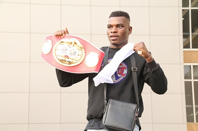 Commey can fight in April if…   – Carl Lokko