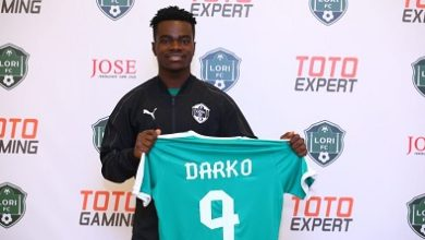 Photo of Darko joins Armenia side Lori FC