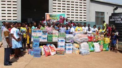 Photo of Fathers' Chapel donates to Akropong School for the Blind