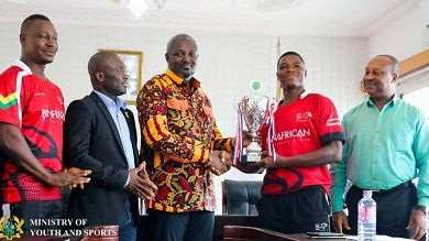 Photo of MoYS rewards Ghana rugby team…for qualification to Africa Silver Cup
