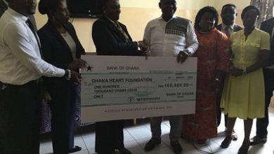 Photo of Bank of Ghana donates to Cardiothoracic Centre