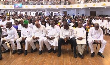 Photo of NDC holds thanksgiving service
