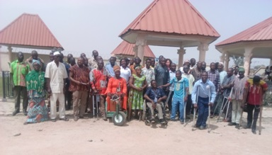 Photo of PWDs sensitised to effective disbursement of Disability Fund