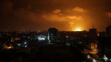 Photo of Israel strikes Gaza after rocket fire