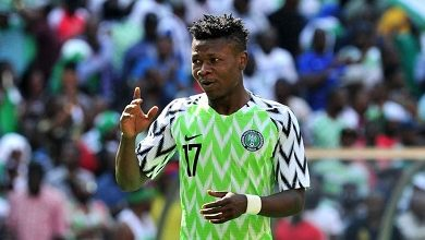 Photo of Kalu out of Nigeria's squad