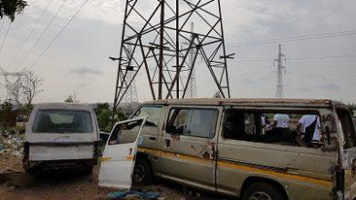 Photo of Danger looms… traders, mechanics besiege high tension towers