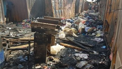Photo of Fire guts 37 shops in Ashaiman …destroying large quantity of goods