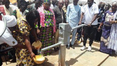 Photo of GNPC inaugurates 40 boreholes in 3 regions