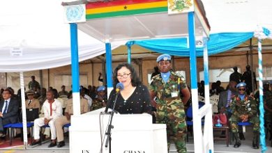 Photo of UN hails Ghana's peace operations role