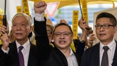 Photo of Hong Kong democracy activists convicted