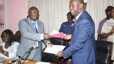 Photo of Darko-Mensah takes over as Western Regional Minister