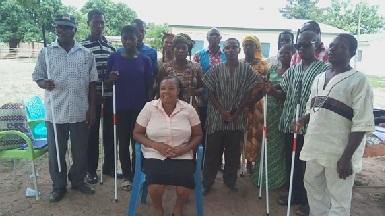 Photo of Afadzato South GBU gets white canes