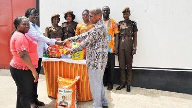 Photo of Kpodo donates to Ho female prison inmates