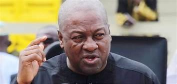 Photo of Mahama worried over citizenry corruption 'silence'