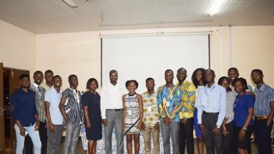 Photo of UHAS Medical Students Association inaugurated