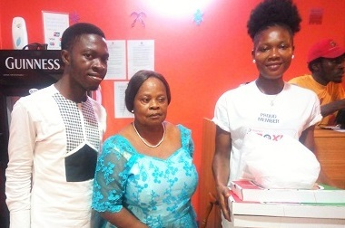 We are grateful to The Spectator and Gennex Pizza -Winners of Mother's Day Promo