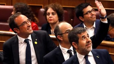 Photo of Jailed MPs attend opening of Spanish parliament