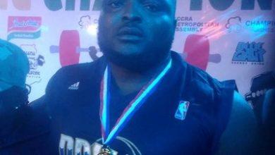 Photo of Nii Armah wins Ghana 2019 powerlifting title