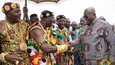 Photo of Join hands to quicken pace of devt-Pres urges Oti