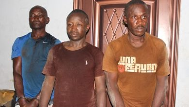 Photo of Soldier, cop, another grabbed for robbery