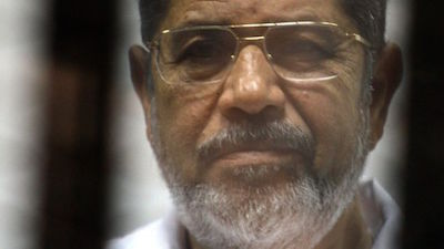 Photo of Egypt's ousted president Morsi dies during trial