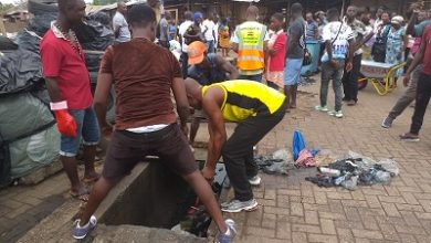 Photo of Korle Klottey residents clean environment