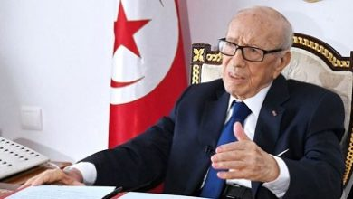 Photo of Tunisia's first freely elected president dies at 92