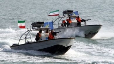 Photo of 'Fuel-smuggling' tanker seized by Iran