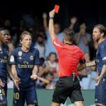 Modric sees red in Real Madrid win