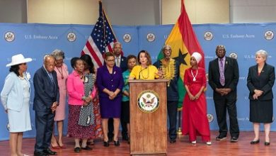Photo of Ghana, Africa matters in US foreign policy—Nancy Pelosi