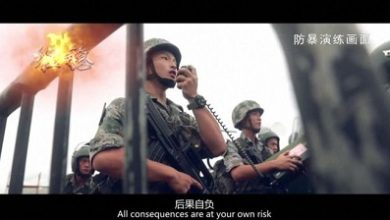 Photo of China warns Hong Kong protesters with army video