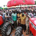 ?Pres outdoors Agric Mechanisation ?Enterprises Centre at Wulensi