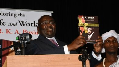 Photo of Veep launches Busia's biography
