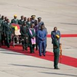 Mugabe's body arrives home from Singapore