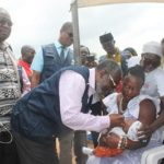Polio vaccination launched in Accra