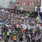 S. Africans, foreigners in joint march against xenophobia