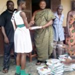 Pius Opoku donates learning materials to schools in Tano North