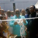 ?President inaugurates 2 warehouses at Ejura