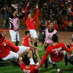 Egypt, Cote d'Ivoire  book Olympic ticket