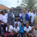 Teshie Methodist-Presbyterian Church donates polytank