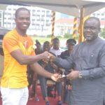 Kofi Tsawoe wins overall best driver award