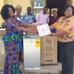 Ayensuano Assembly gives items ?to health facilities in the district