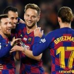 Messi scores hat-trick in rout