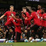 United win dents? ?City's title hopes