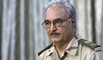 Photo of Libya's Haftar rejects call for ceasefire