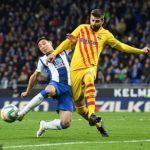 Late Wu Lei goal denies Barca derby win